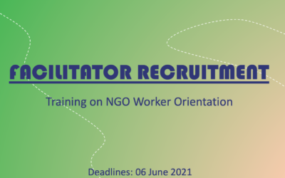Facilitators Recruitment – NGO Traineeship 10