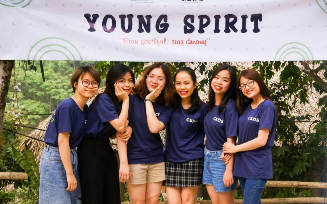 Young Spirit 2021 – Tinh thần giới trẻ hành động vì cộng đồng